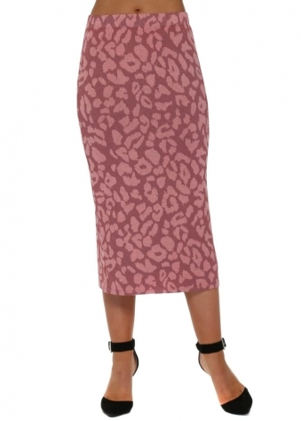 Shannon Coraline Sexy Skin Midi Skirt