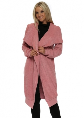 Courtney Poodle Wrap Coat In Coraline