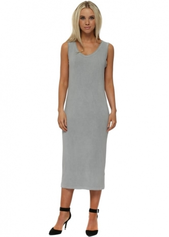 Nancy Mouse Jersey Midi Dress