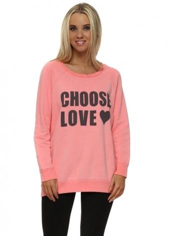 Coraline Choose Love Logo Sweater