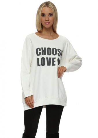 Vanilla Ice Choose Love Logo Sweater