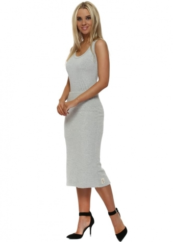 Camille Coodle Midi Skirt In Vanilla Ice