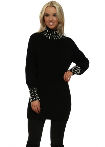 Black Pearl Polo & Cuffs Jumper