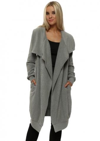 Courtney Poodle Wrap Coat In Thunder