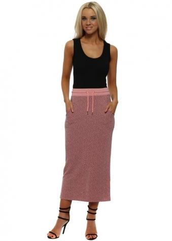 Hayley Coraline Herringbone Pencil Skirt