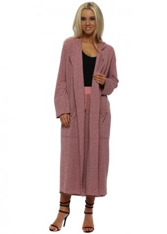 Harper Coraline Herringbone Deconstruct Coat