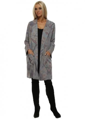 Pandora Patcha Dim Grey Deconstruct Jacket