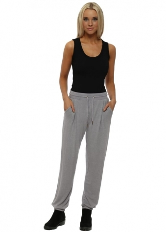 Valerie Dim Grey Melange Hero Jogger Pants