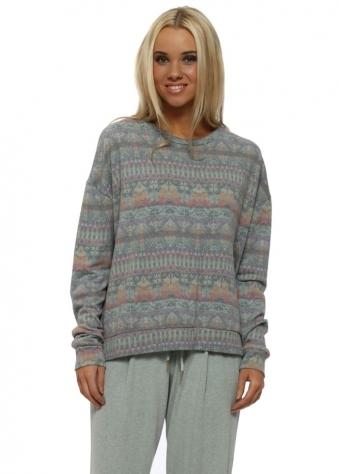 Faye Winter Sea Fab Fairisle Sweater