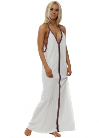 Pima Sundress In White