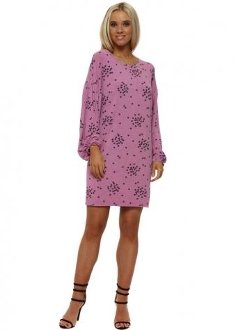 Stella Pinkest Starry Jersey T-Shirt Dress