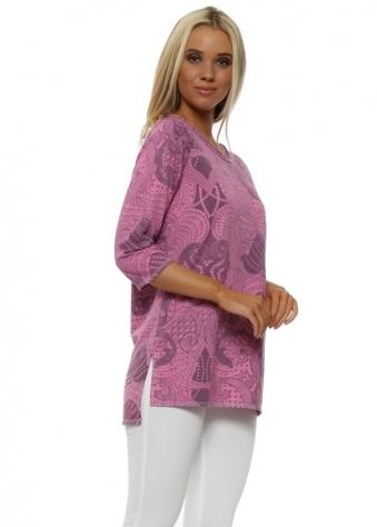 Logan Pinkest Luxe Luxe Slimline Sweater