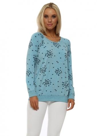 Saffron Sky Starry Jersey Sweater