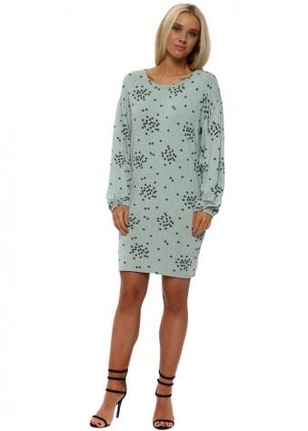 Stella Sea Jade Starry Jersey T-Shirt Dress