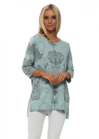 Logan Sea Jade Luxe Luxe Slimline Sweater