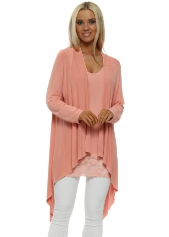 Fable Sorbet Waterfall Cardigan