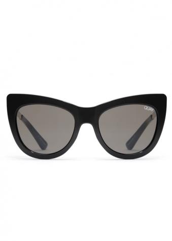 Steal A Kiss Cat Eye Sunglasses In Black