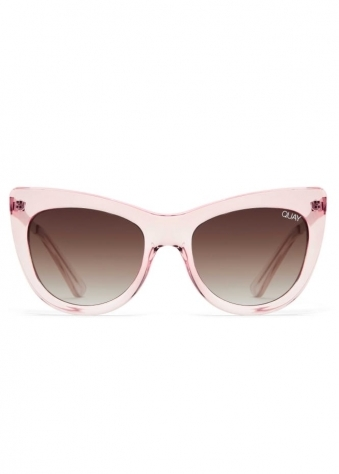 Steal A Kiss Cat Eye Sunglasses In Pink