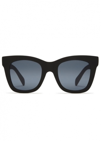 After Hours Square Black Sunglasses