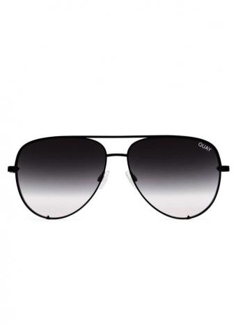 High Key Urban Black Fade Aviator Sunglasses
