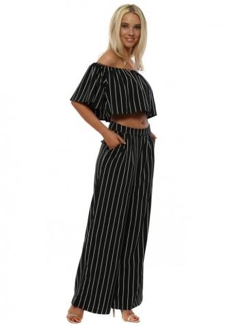 Black Stripe Matching Co-Ord Set