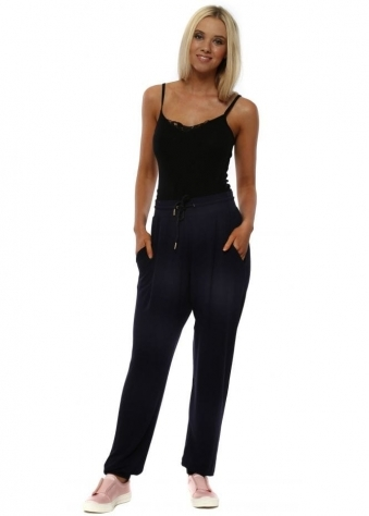 Amy Navy Jogging Bottoms