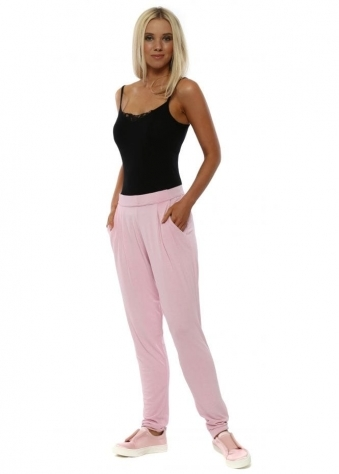 Blush Chillings Loose Fit Casual Pants