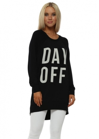 Black Day Off Sweater