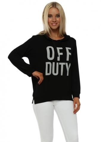 Black Off Duty Hoodie