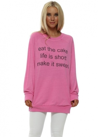 Bubblegum Eat The Cake Sweater