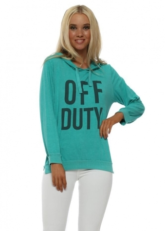 Sea Green Off Duty Hoodie