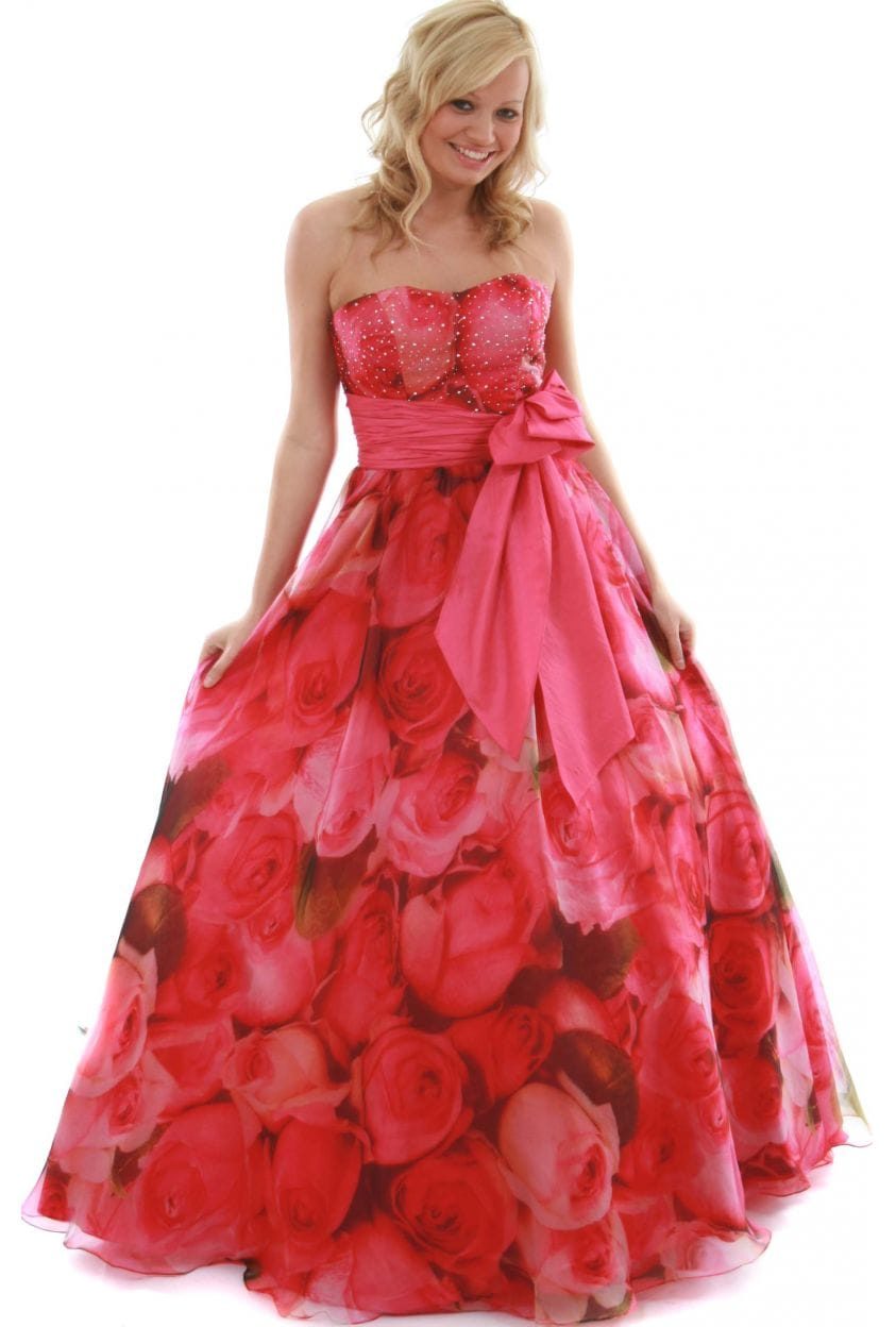 Rose Prom Dresses - Long Dresses Online