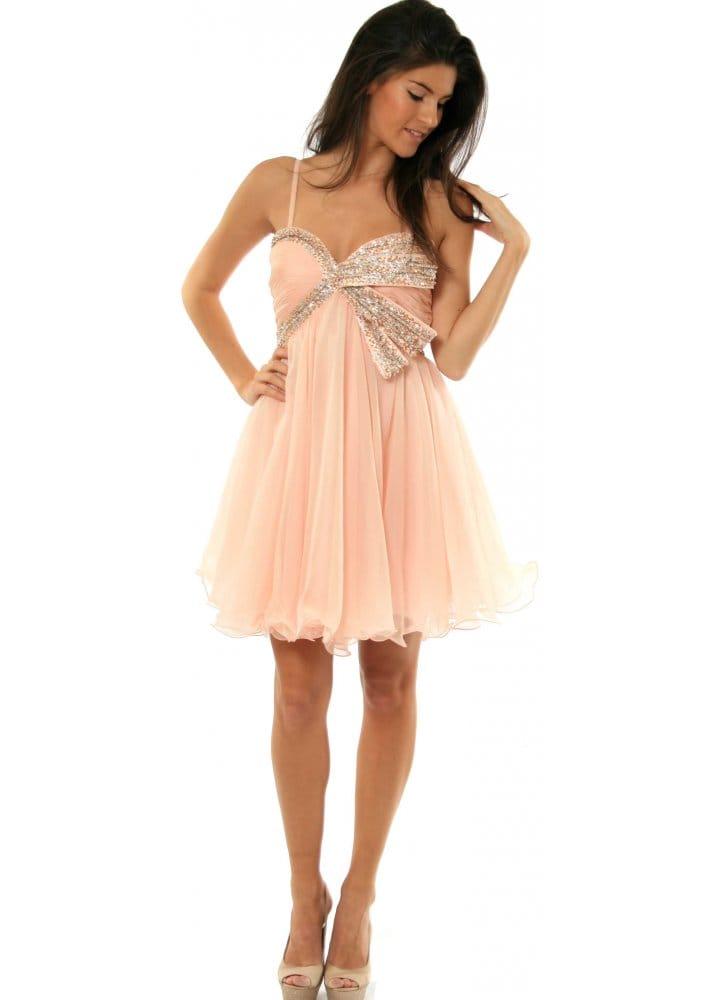 Forever Unique Pauline Jewel Embellished Bust Dress