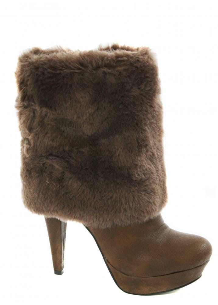Faux Fur Boots. Give your winter shoe wardrobe an upgrade with faux fur boots. With trendy choices in men, women's and juniors footwear, there is a perfect pair for anyone.
