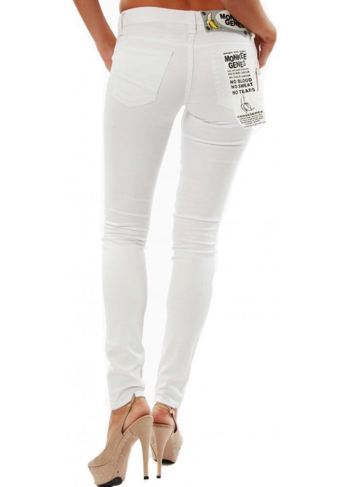 Monkee Genes White Jeans | Buy Monkee Genes Supa Skinny Jeans ...