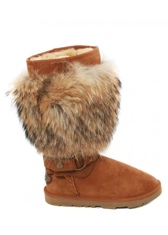 efca0ce1c1f Raccoon fur boots