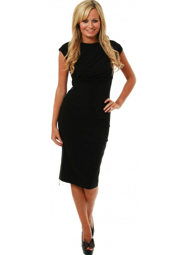 Buy So Couture Dresses | So Couture Melrose Zip Dress