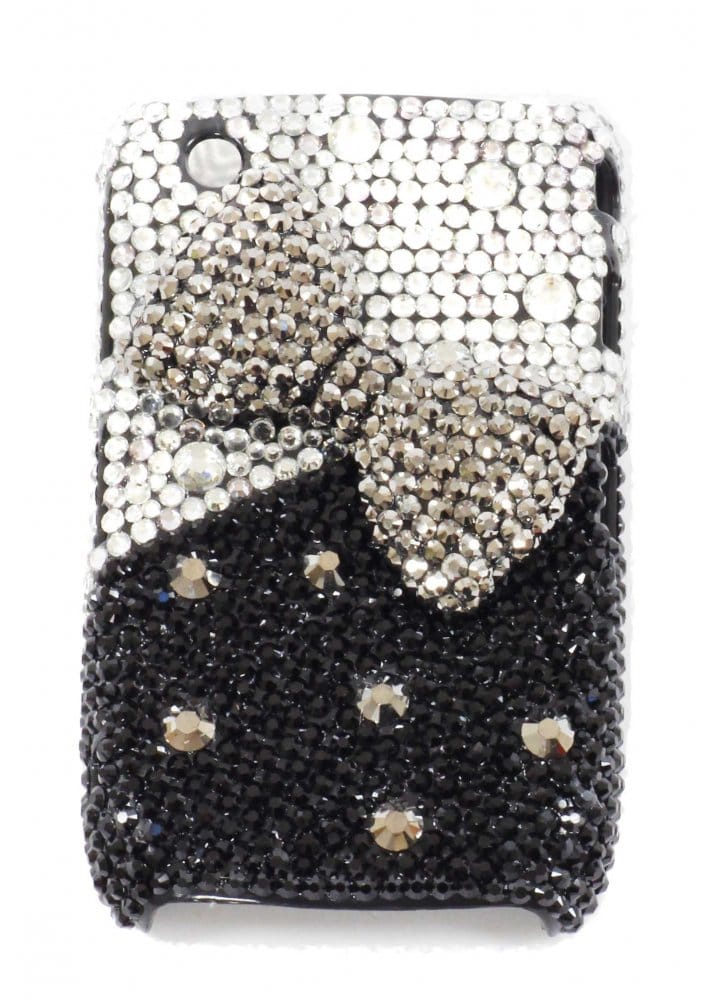 Blackberry Curve Crystal Phone Cover   Diamante Mobile Phone Covers ...