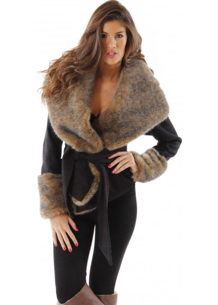 Fur Hooded Coats