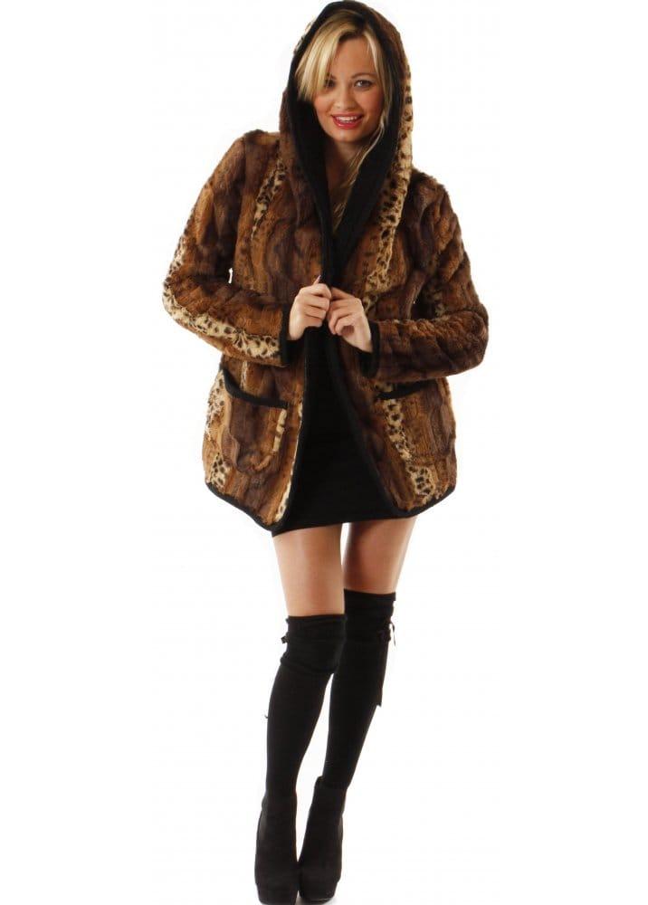 Jolie Moi Faux Fur Coat Jolie Moi Fur Jacket Designer