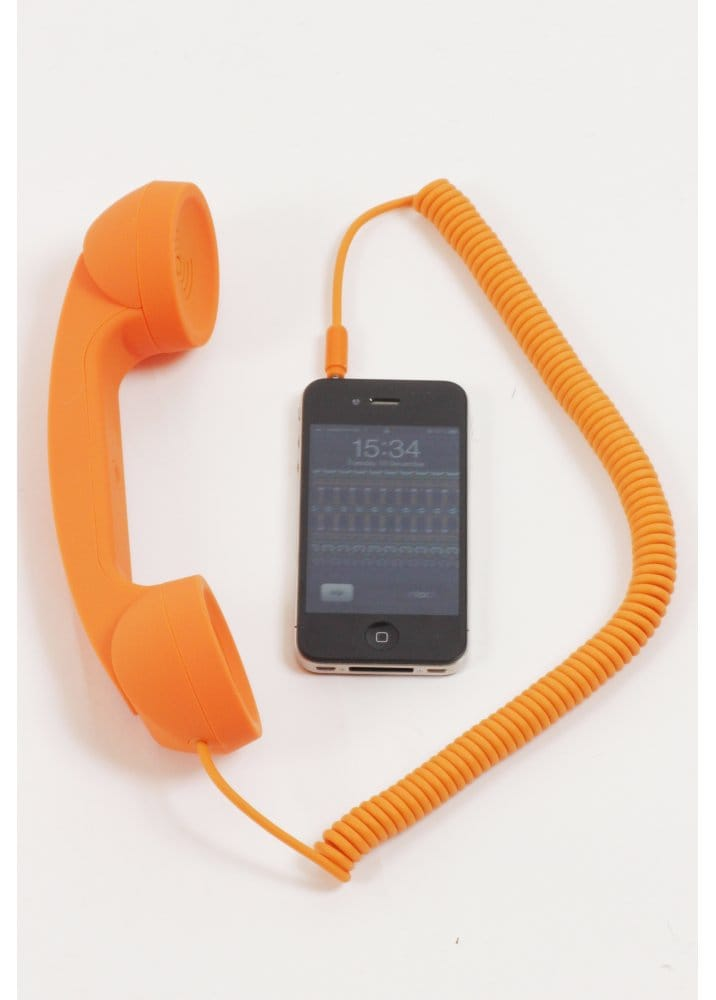 Native union orange pop phone moshi moshi orange pop for Orange mobel