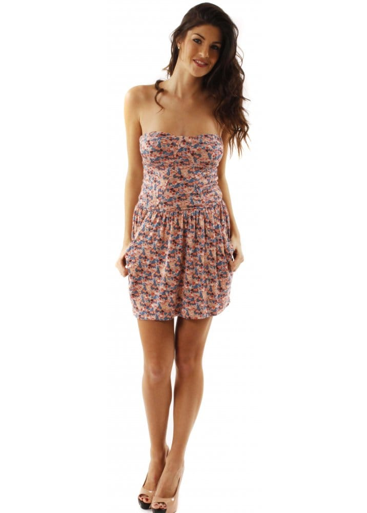 House Of Dereon Dress | House Of Dereon Floral Bustier Dress | Shop House Of Dereon @ Designer ...