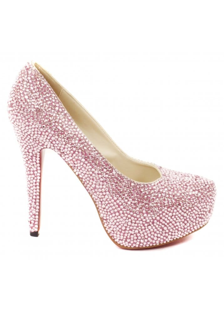 Lemonade Pink Crystal Shoes | Love Lemonade Pink Shoes | Lemonade ...