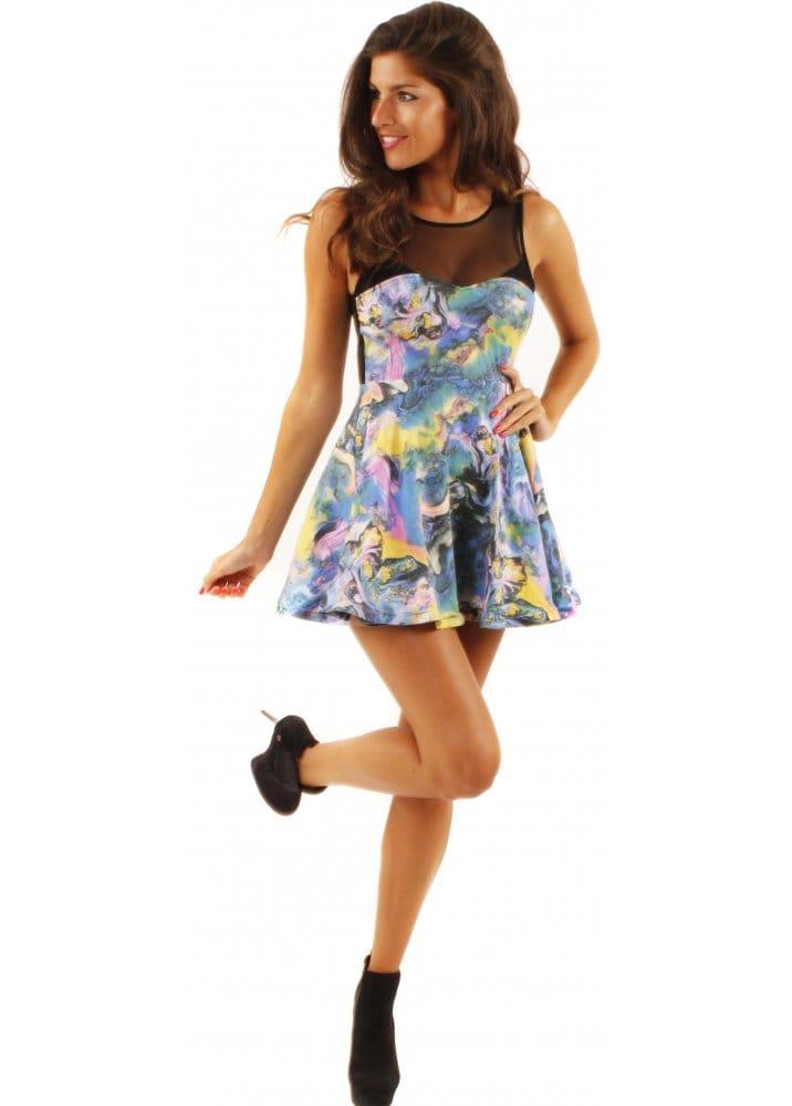 Fairground Pretty Woman Dress Fairground Skater Dress
