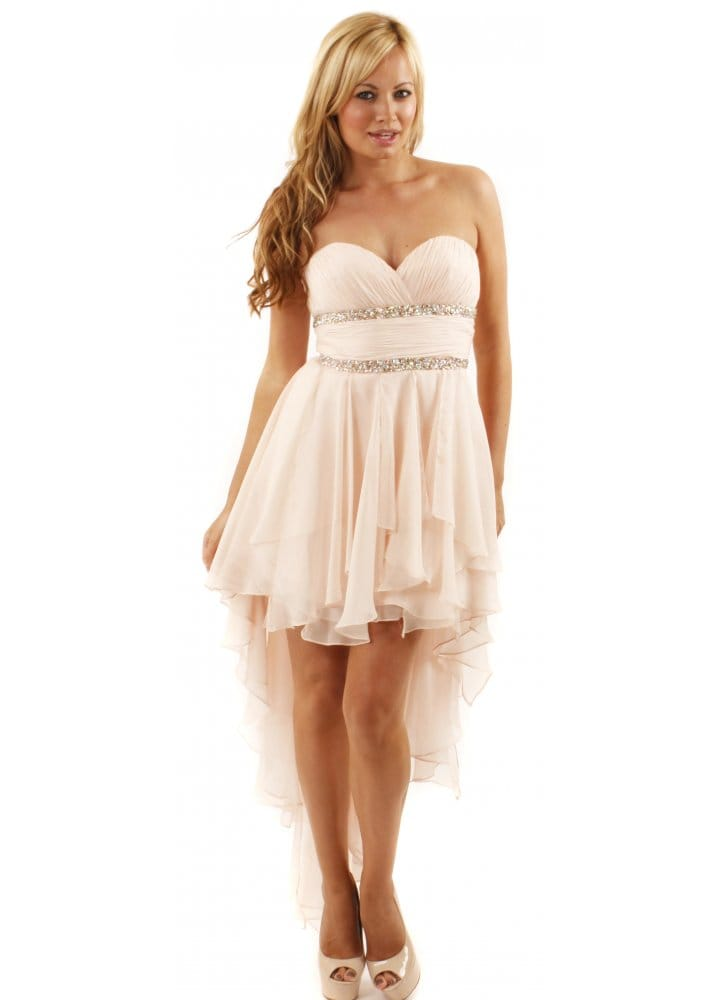 Forever Unique Sara Dress Forever Unique Nude Prom Dress