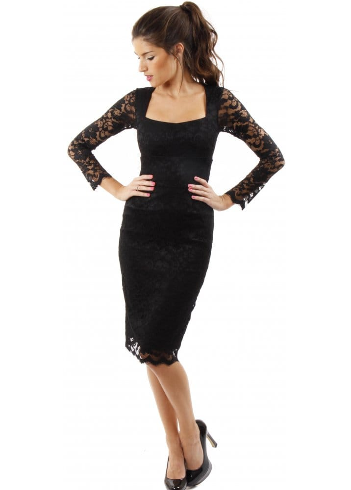 Find great deals on eBay for black lace pencil dress. Shop with confidence.