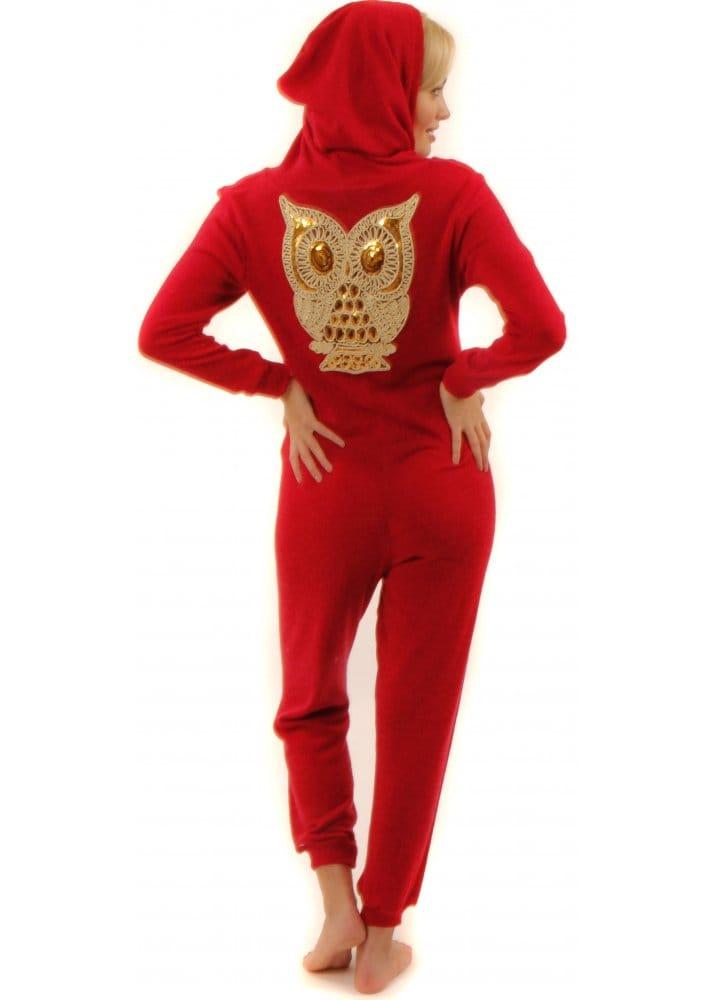 Red Golden Owl Onesie Women S Red Onesie Cheap Red Onesies