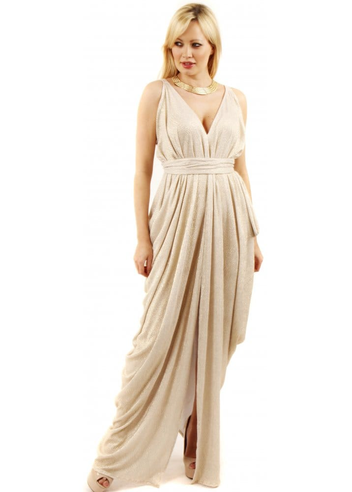 Grecian maxi dresses uk