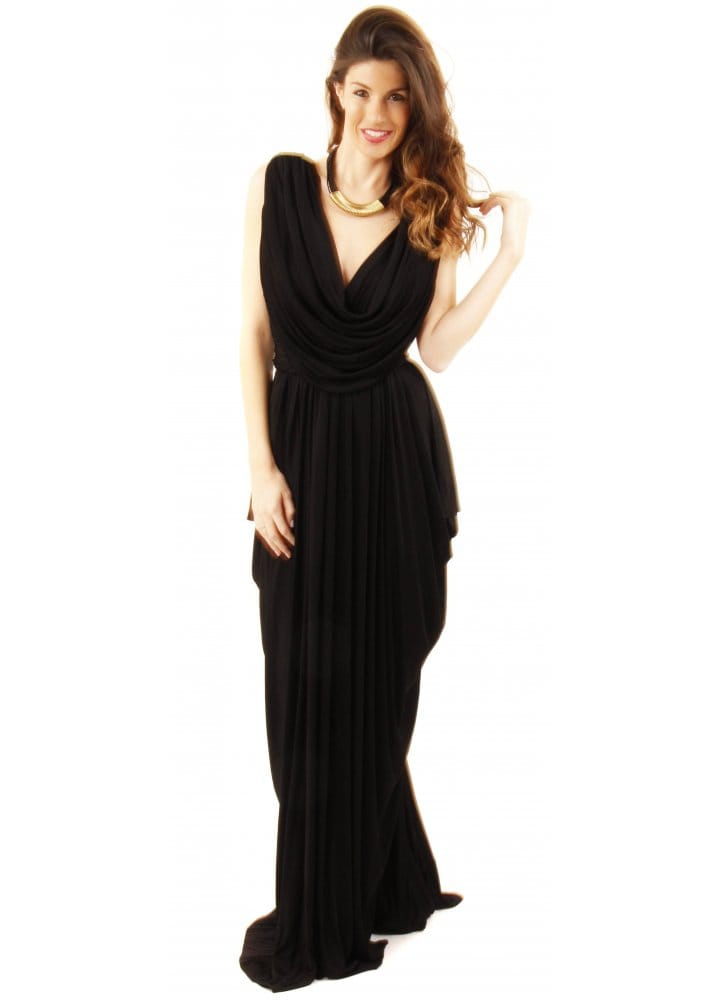 Nicole bakti black evening gown nicole bakti black evening dress