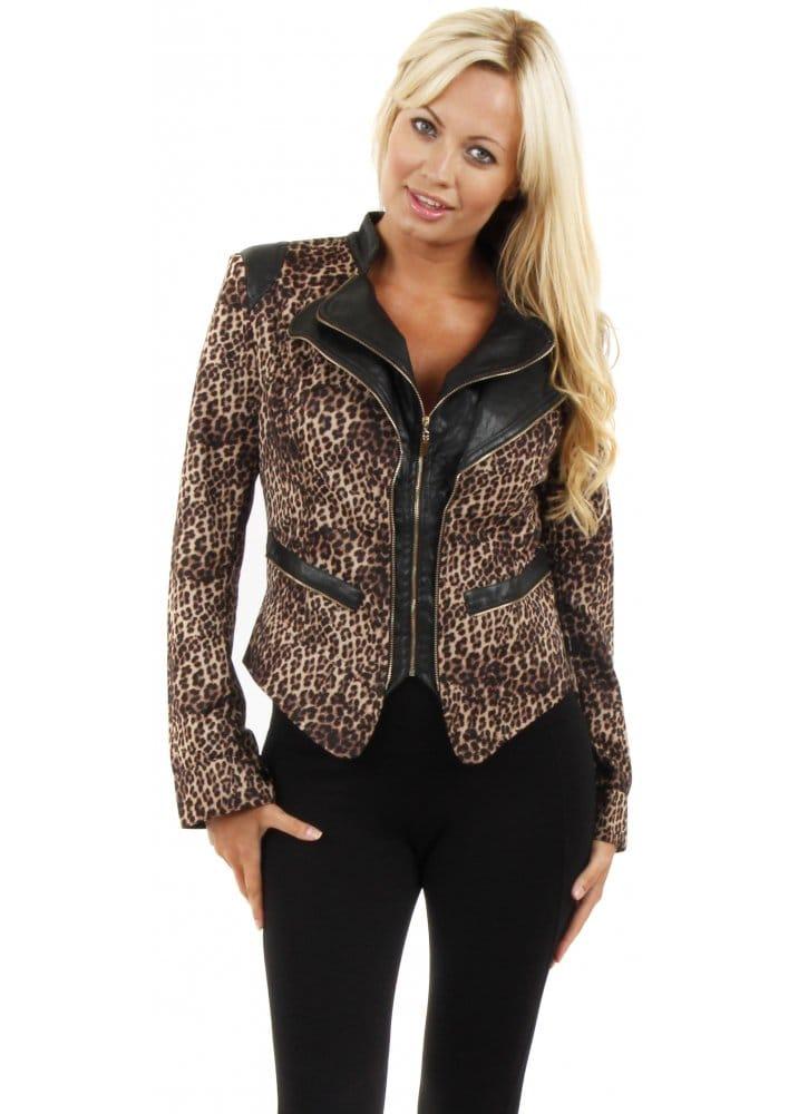 Shop for and buy leopard print jacket online at Macy's. Find leopard print jacket at Macy's.